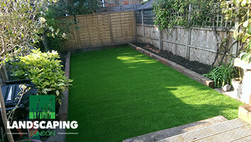 Artificial Grass Laying - Final Result