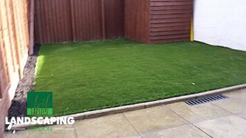 Artificial Grass Installation - Final Result