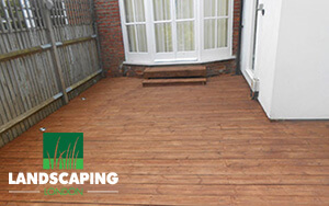 Professional Decking Installation London - Final Result