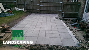 Professional Patio Laying Services - Final Result