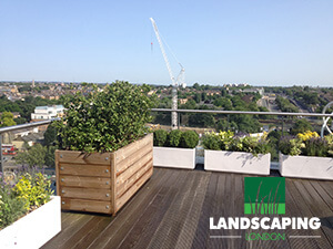 Roof Terrace Design London - Final Result