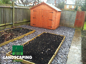 Professional Shed Installation London - final result