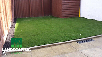 Artificial Grass Installation - Final Result