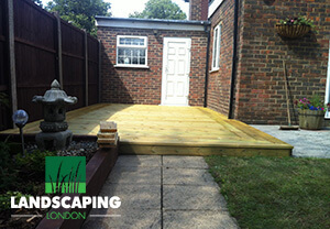 Professional Decking London - Final Result