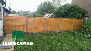Professional Garden Fencing London - Final Result