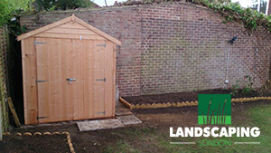 Professional Shed Installation Services - Final Result