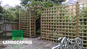 Trellis Installation Services - final result