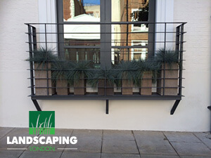 Window Box Planters London - Final Result